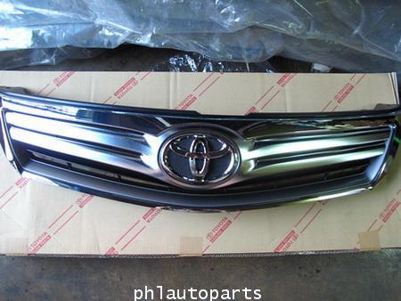 หน้ากระจัง Toyota camry acv 40 hybrid อะไหล่camry แท้