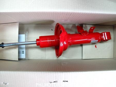 โช๊คอัพหน้า kayaba super red toyota vigo