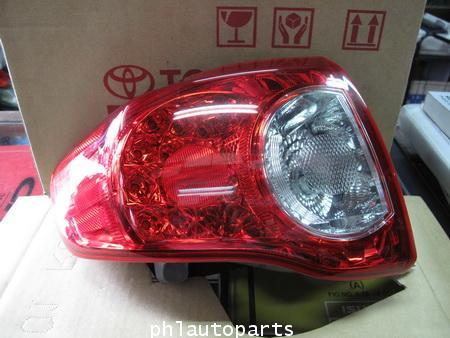 ไฟท้าย Toyota New altis TRD รุ่นสองสี