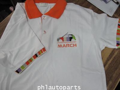 เสื้อยึด nissan march แท้