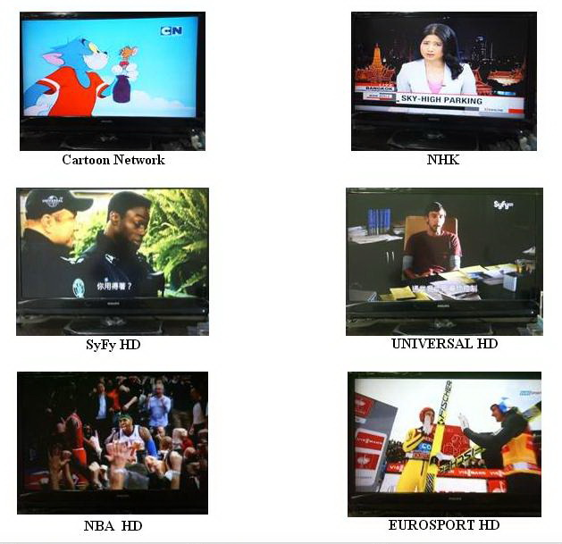 IPTVสำหรับต่างชาติ อังกฤษ จีน ฮองกง ใต้หวัน ญี่ปุ่น เกาหลี 600 กว่าช่อง 5