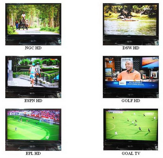 IPTVสำหรับต่างชาติ อังกฤษ จีน ฮองกง ใต้หวัน ญี่ปุ่น เกาหลี 600 กว่าช่อง 6