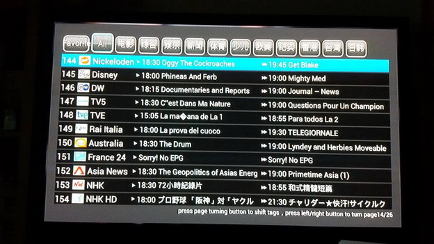 IPTV ดูทีวีต่างชาติเยอะแยะมากมาย 200กว่าช่อง (PLATINUM PACKAGE) 15