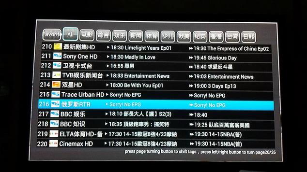 IPTV ดูทีวีต่างชาติเยอะแยะมากมาย 200กว่าช่อง (PLATINUM PACKAGE) 20