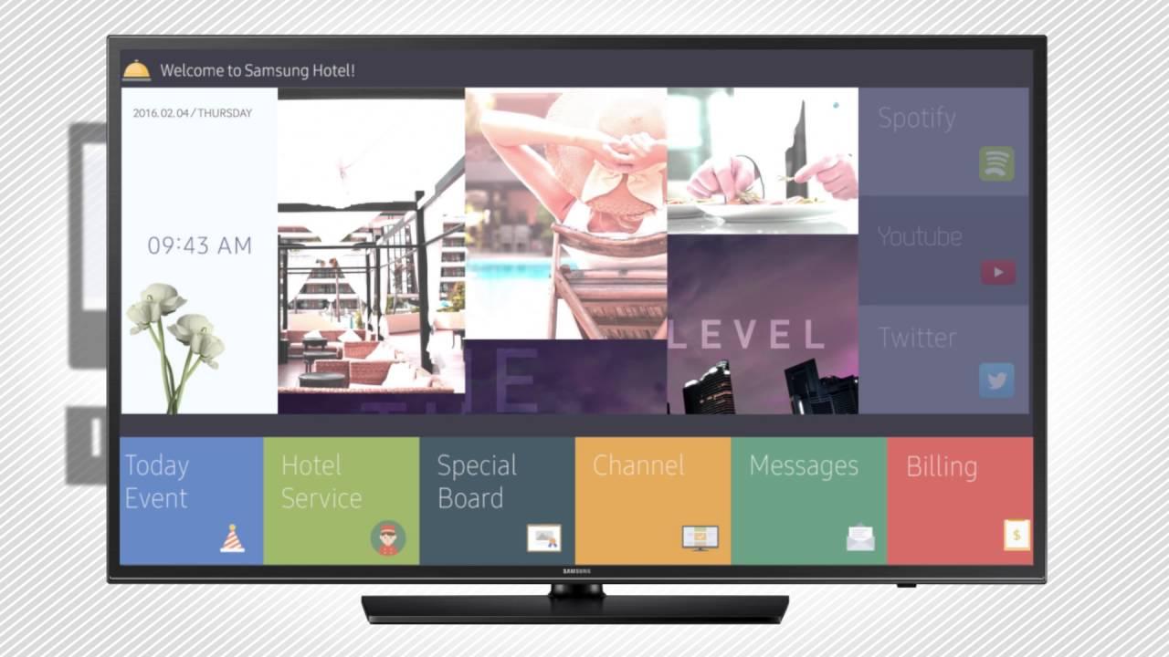 SAMSUNG HOSPITALITY LED TV ทีวีสำหรับงานระบบ 40นิ้ว
