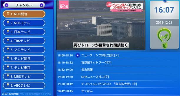 IPTV Japan MYK 264 + VOD สามารถดูรายการได้ 50 ช่องรายการ กินสัญญาณ internet ไม่มาก 5