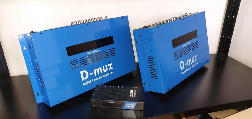 ชุด DIY ระบบดิจิตอลทีวี ช่องไทยและต่างชาติ 50ช่องD MUX 2