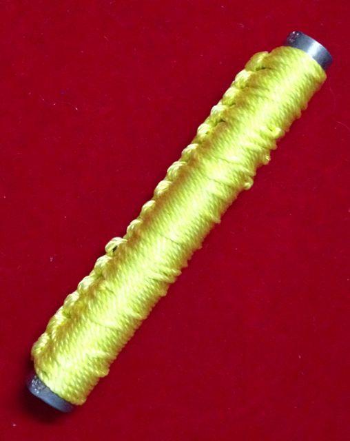 ตะกรุดเพชรคงชาตรี หลวงพ่อสุพจน์ วัดศรีทรงธรรม เชือกเหลือง