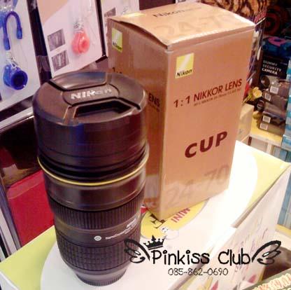 แก้ว Nikon Mug 24-70 แก้วเลนส์นิคอนต้นฉบับ
