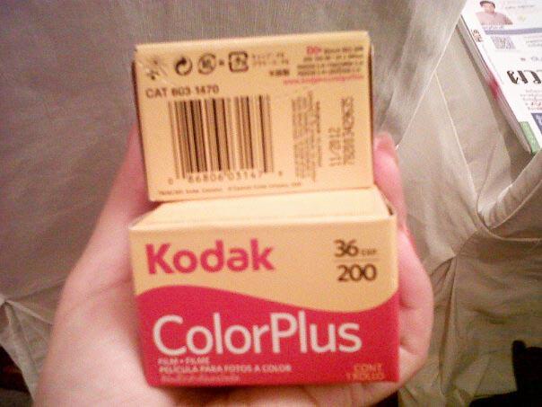 ฟิมล์ Kodac 200 35mm