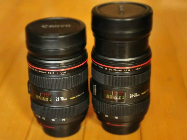 แก้ว canon mug 24-70 mm Zoom ได้ แก้วน้ำเลนส์แคนนอนซูม