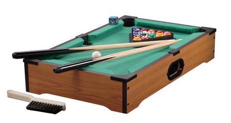 โต๊ะพลูปิกนิค โต๊ะสนุ๊ก Mini Pool Table ขนาด 52 เซน