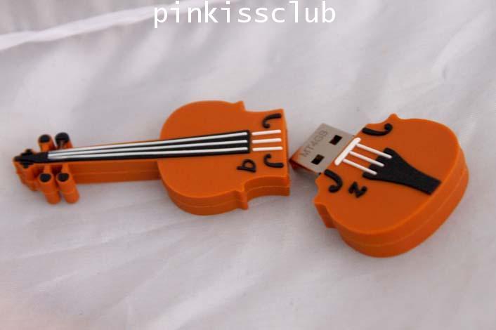 แฟลชไดร์ฟไวโอลิน 4GB ( Flash Drive Violin )