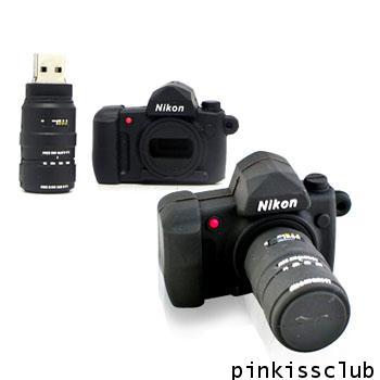 แฟลชไดร์ฟ Nikon 4 GB( Flash Drive  Nikon )