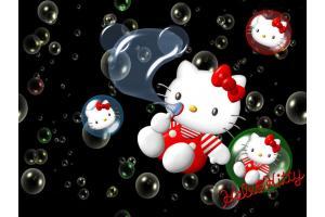เครื่องสร้างฟองสบู่ bubble kitty แบบตั้งโต๊ะ