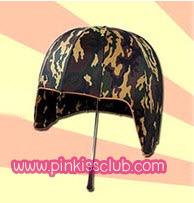 ร่มหมวกทหาร ร่มทรงหมวกทหาร