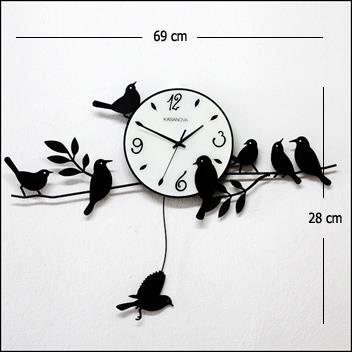 นาฬิกานกวินเทจ นาฬิกานกแกว่ง