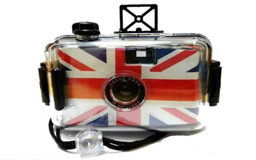 กล้องกันน้ำลายธงชาติอังกฤษ