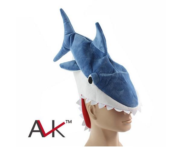 หมวกปลาฉลาม หมวกปลาฉลามกินหัว