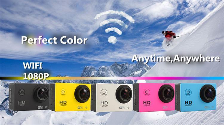 กล้องกันน้ำ ดิจิตอล WiFi Camera HD