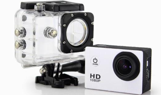 กล้องกันน้ำดิจิตอล Spot Camera HD สีขาว