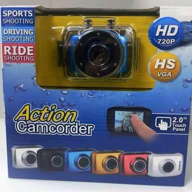 กล้องดิจิตอลกันน้ำ Action Camcorder