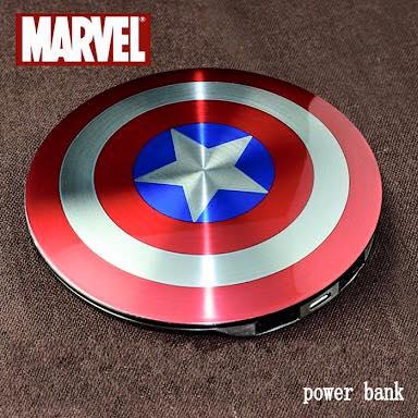 Powerbank captain america แบตสำรองกัปตันอเมริกา