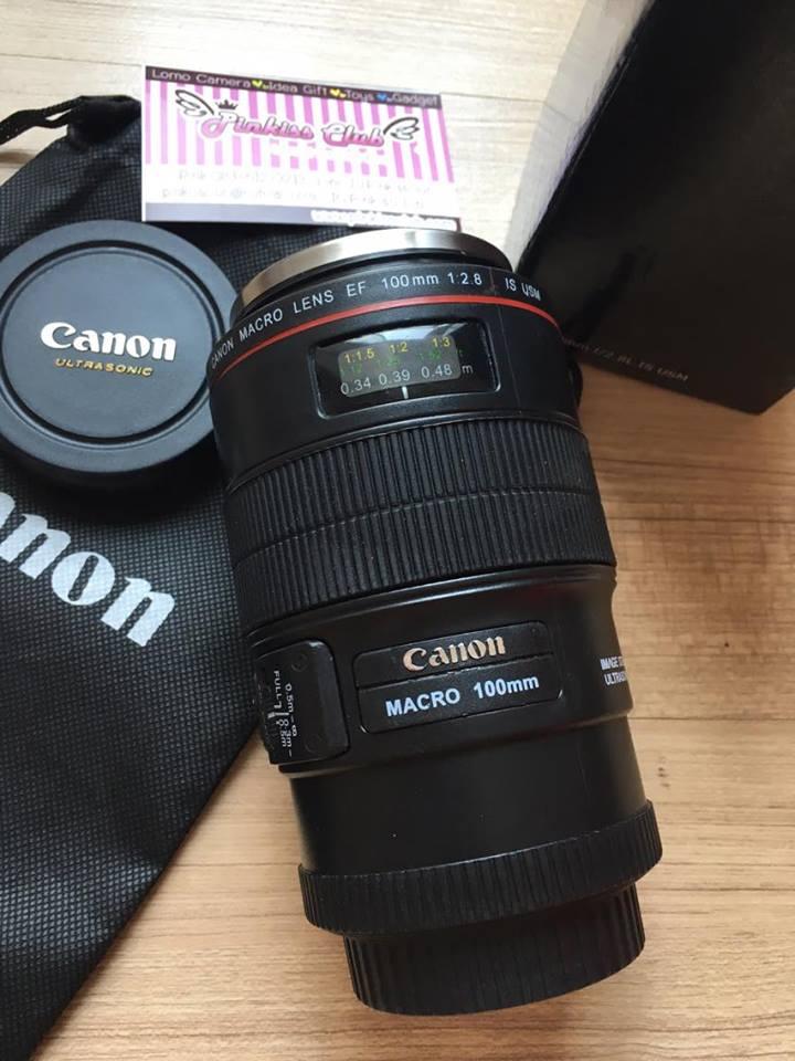 แก้วเลนส์ Canon EF 100