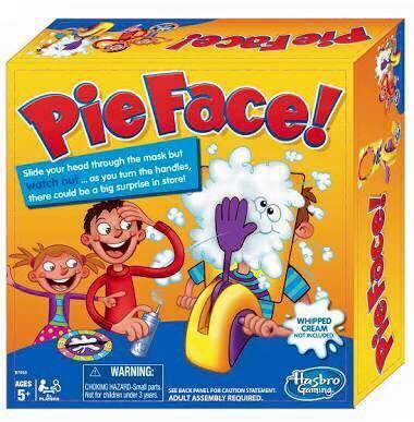 เกม pie face
