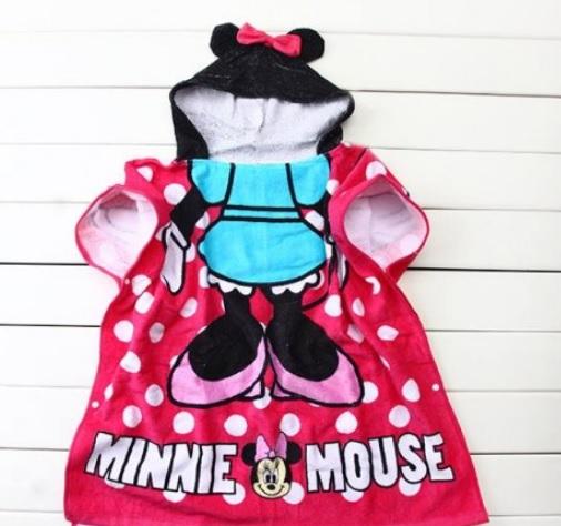 ผ้าขนหนูเด็ก ผ้าเช็ดตัวเด็ก ลายมินนี่ minnie