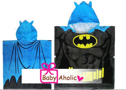 ผ้าขนหนูเด็ก ผ้าเช็ดตัวเด็ก ลาย batman