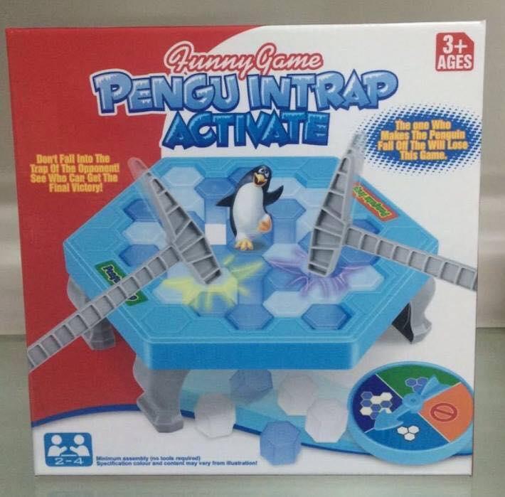 เกม เพนกวินน้ำแข็ง เพนกวินทุบน้ำแข็ง