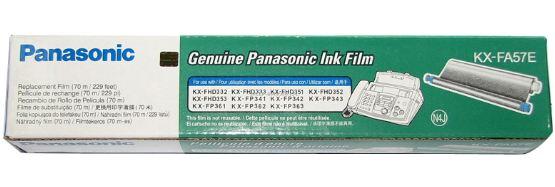 PANASONIC รุ่นKX-FA57E