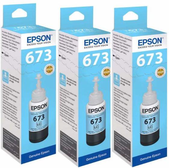 EPSON T673500 NO673 LIGHT CYAN