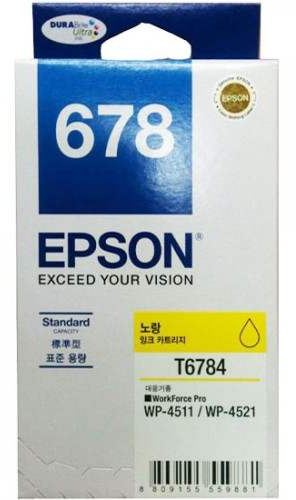 EPSON T678490 NO678 YELLOW