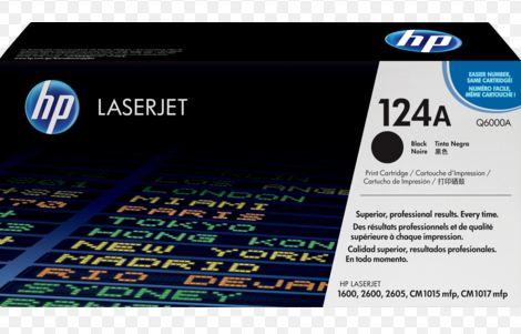 HP Q6000A NO124A BLACK