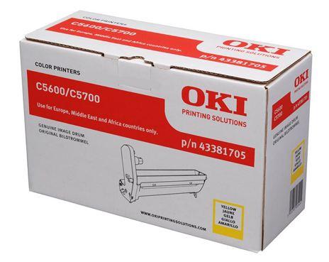 OKI DRUM-C5600Y