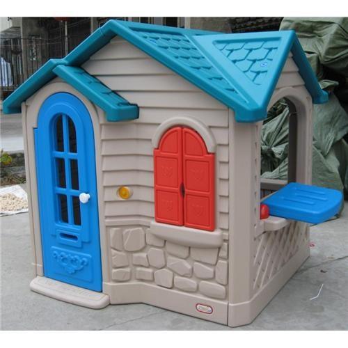 บ้านเด็กน้อยหลังค้าสีฟ้า
