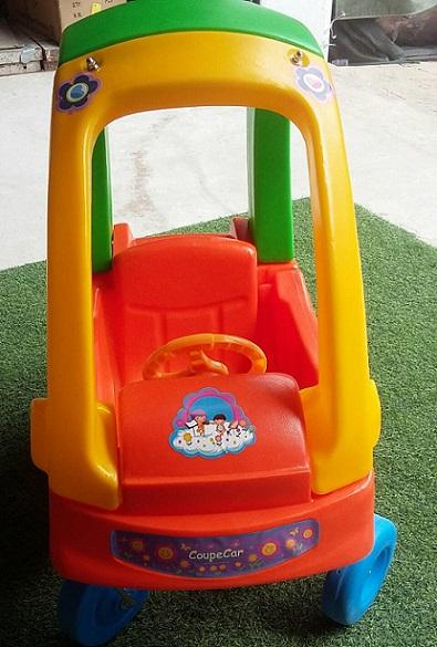 รถขาไถ เด็กเล่น รุ่นลูกกวาด รถสำหรับเด็กนั่งเล่น ล้อใหญ่ 4ล้อ