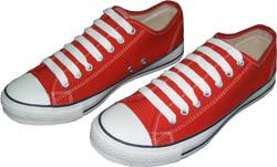รองเท้าผ้าใบ MASAHRE ไม่หุ้มข้อรูปทรงเหมือนผ้าใบ CONVERSE