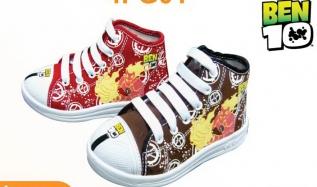 ADDA BEN10 รองเท้าผ้าใบเด็กทุกขวบ