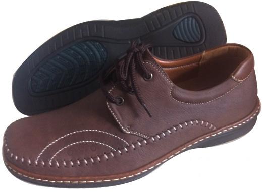 รองเท้าหนังเท่ห์มาก ผูกเชือก พื้นยาง สีดำ สีน้ำตาลเข้ม สีน้ำตาลอ่อน