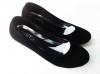 รองเท้าคัชชูหัวกลม ไม่มีลาย  หน้าเรียบ สูง 1 นิ้วครึ่ง สีดำ เนื้อกำมะหยี่  หนังแก้ว หนังด้าน   ขายทั