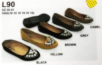 รองเท้าคัชชูแฟชั่น ส้นเตี้ย ขายส่ง ราคาไม่แพง