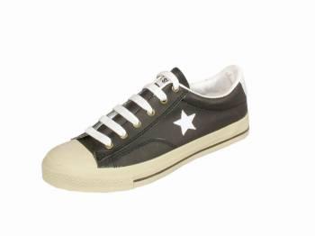 MASHARE รองเท้าผ้าใบหนังด้าน ทรง convert All STAR