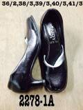 รองเท้าหัวตัดสีดำ ใส่เรียน ทำงาน ขายส่ง