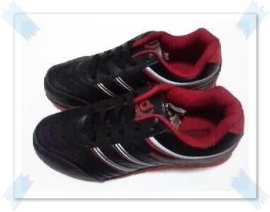 รองเท้าผ้าใบ ผู้หญิง ผูกเชือก สีดำ