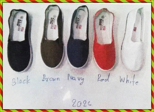 รองเท้าผ้าใบกังฟู สตรี ไม่มีลาย พื้นยาง ขายส่
