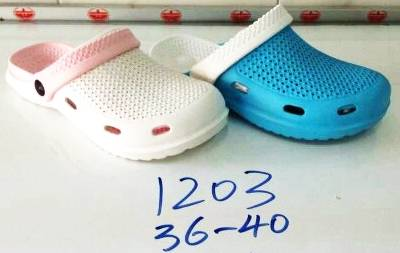 รองเท้าแตะหัวโตผู้หญิง ยางรัดส้นข้างหลังได้ ขายส่ง