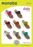 MONOBO รุ่น JELLO ขายส่ง รองเท้าแตะหูคีบ